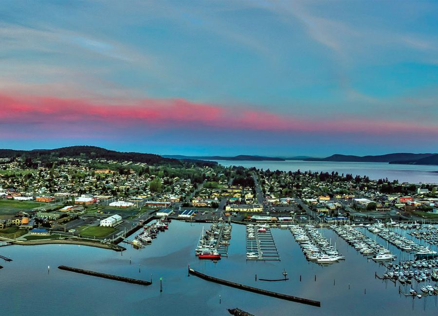 Anacortes Marina Panoramic